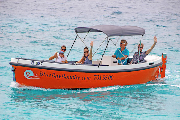 dutch sloep boat rental bonaire